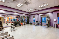 Fitness Center of The Legend Flats Apartments